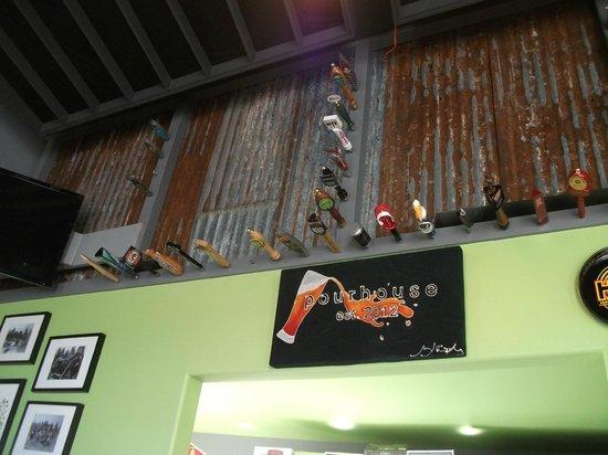 Pourhouse: Wall display