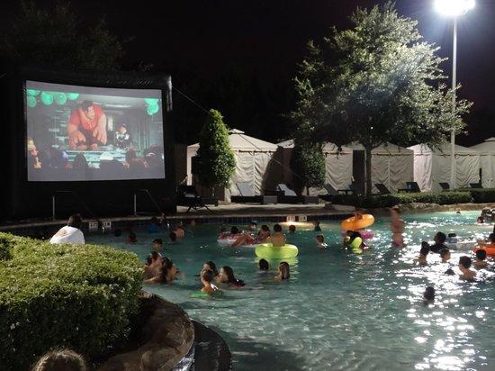 Hilton Orlando Bonnet Creek: telao