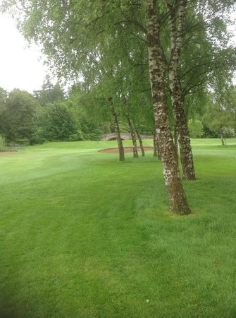 Newbattle Golf Club: 2nd green, newbattle g.c.