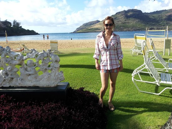 Marriott's Kaua'i Beach Club: View from Kalapaki Beach