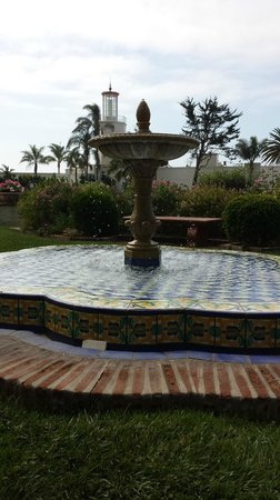 """Four Seasons Resort The Biltmore Santa Barbara: The """"quiet garden"""" is out side the spa and is beautiful"""