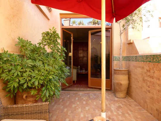 La Maison Arabe : The Roof Terrace