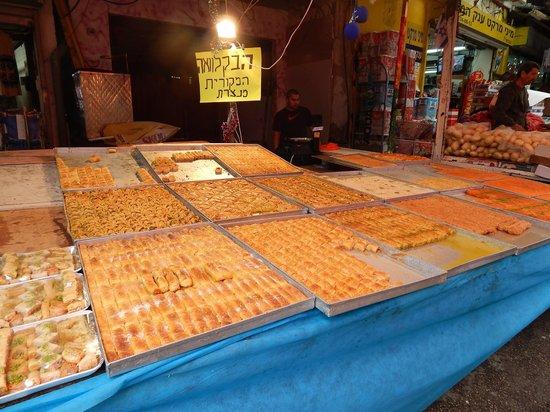 Carmel Market (Shuk Ha'Carmel) : doces