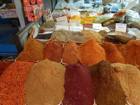 Carmel Market (Shuk Ha'Carmel) : tempeiros