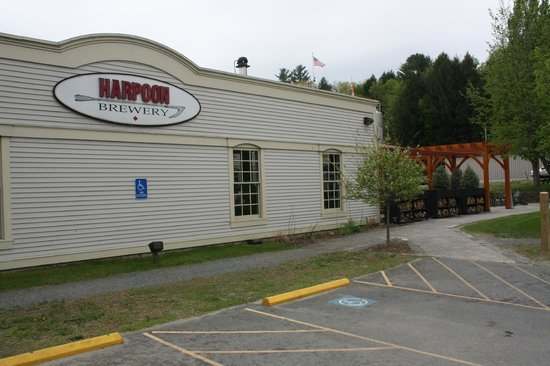 Harpoon Brewery: Outside the Brewery