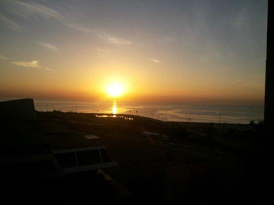 Sheraton Grand Panama: Espectacular amanecer desde la habitación