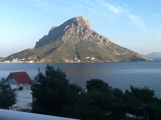 Apollonia Hotel: view from our room