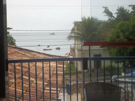 Coronado Beach Hotel: balcon,frente al mar