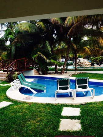 El Dorado Royale, a Spa Resort by Karisma: View from our room. Jr swim up suite