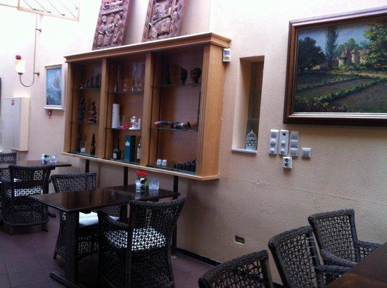 Hotel Het Witte Paard: Кафе