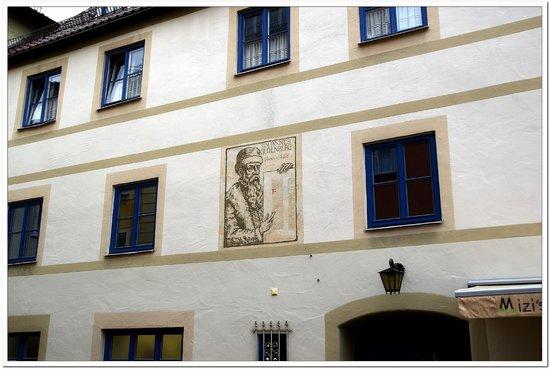 Altstadt von Fuessen: Fussen symbol 002