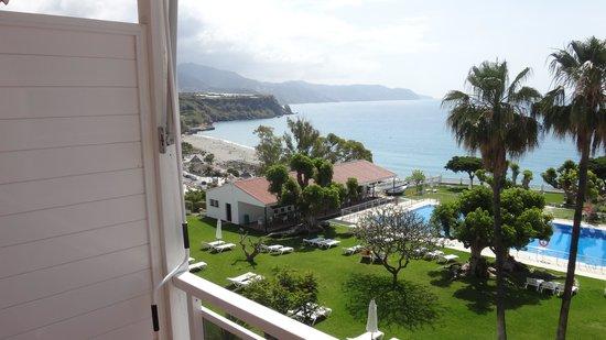 Parador de Nerja: View from balcony