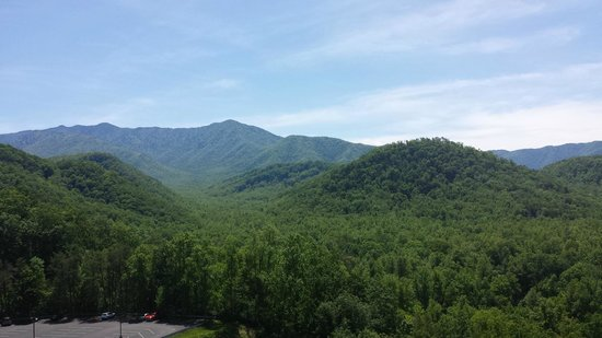 Park Vista - DoubleTree by Hilton Hotel - Gatlinburg: View from our room!!!