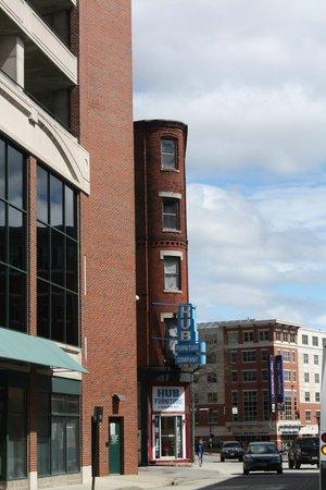 Hampton Inn Portland Downtown - Waterfront: On the edge of downtown