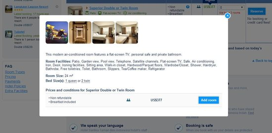 Hotel Santika Taman Mini Indonesia Indah-: the amenities provided as mentioned online.