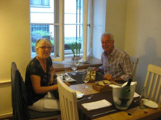 Valtera Restorans: stilvoll und gemütlich