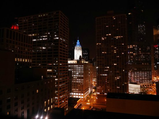 Homewood Suites by Hilton Chicago-Downtown: View from 1904. Lovely.