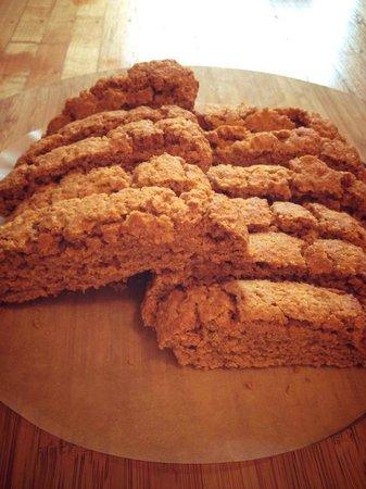 Happy Creek Coffee & Tea: Gluten-free pumpkin biscotti