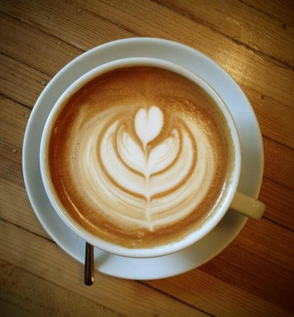 Happy Creek Coffee & Tea : Latte Art