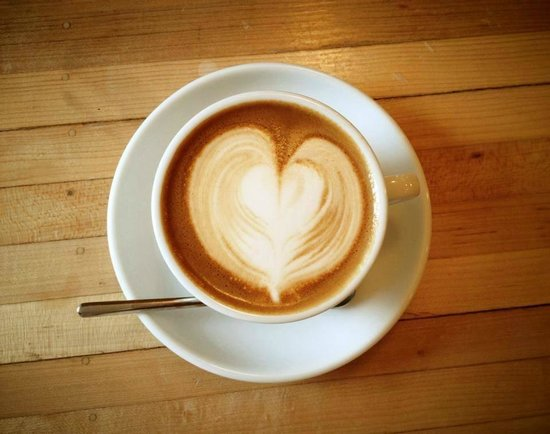 Happy Creek Coffee & Tea: Latte heart