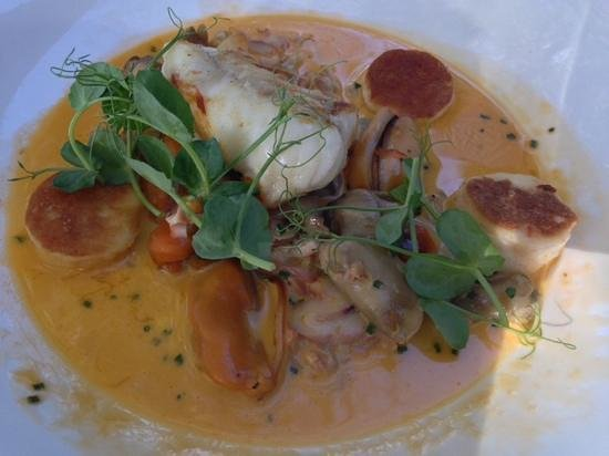 Delaire Graff Restaurant: The awesome crab bisque
