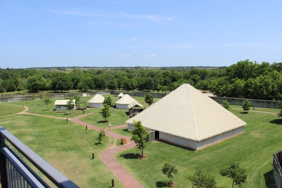 Chickasaw Cultural Center: Part of the village recreation