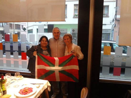 Hesperia Bilbao: Cena bienvenida