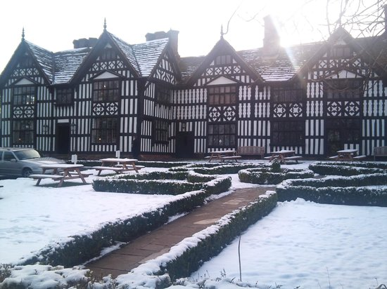 The Old Hall: Snowy January