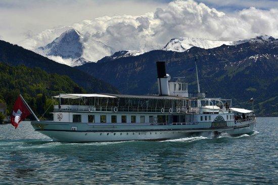 Hotel Roessli : Cruising on Lake Thun