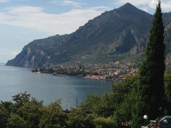 Hotel Villa Dirce: Lake Garda view