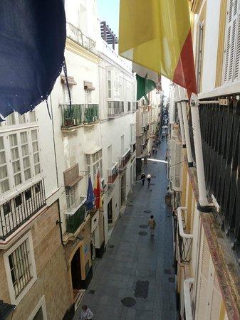 Hotel Las Cortes De Cadiz : Vista desde la habitación