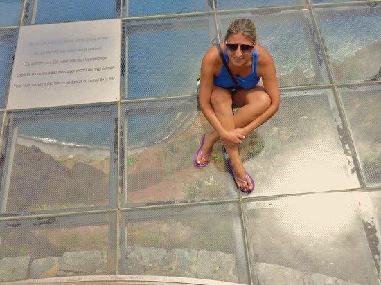 Cabo Girao : Medo :)