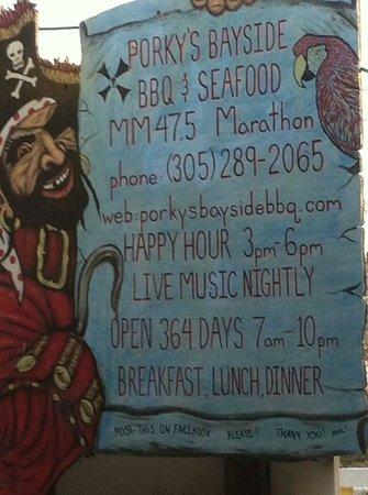 Porky's Bayside Restaurant and Marina