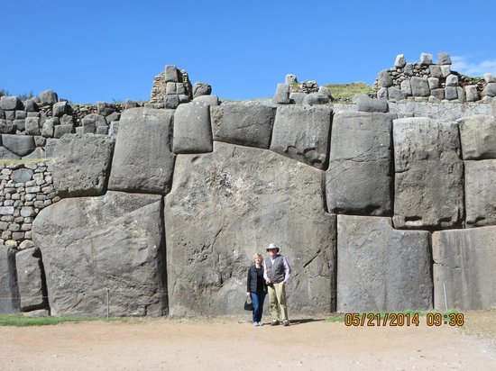 Sacsayhuamán: Look at the stonework!