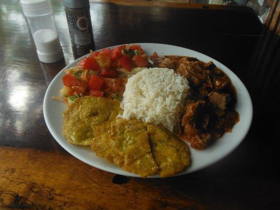 La Leona Eco Lodge: The food was great