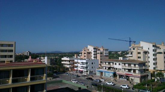 Blue Sea La Pinta: View from the hotel balcony