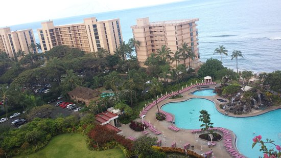 Ka'anapali Beach Club: Gorgeous view in the morning