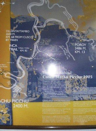 Hostal Nazca: MAPA DEL TREN HACIA MACHU PICHU