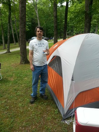 Horse Cave KOA: Camping at the KOA