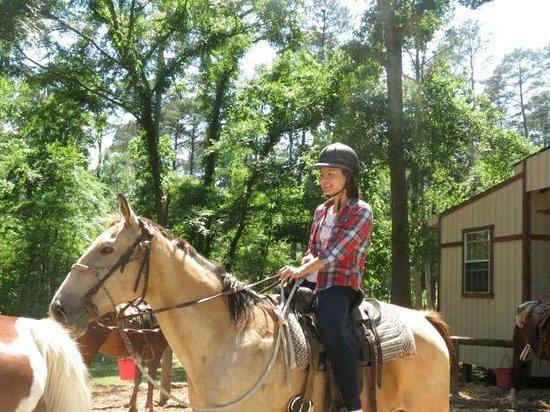 Huntsville State Park: Horse riding