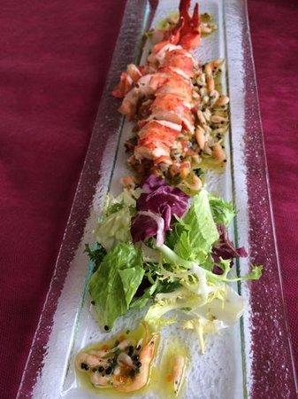 El Cantal Restaurant : Ensalada de bogavante