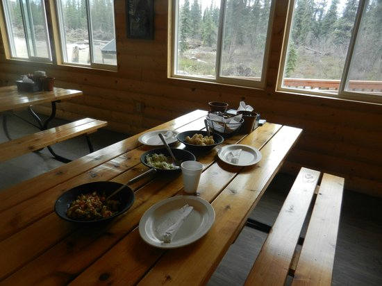 Black Diamond ATV Tours: Dinner as part of the tour