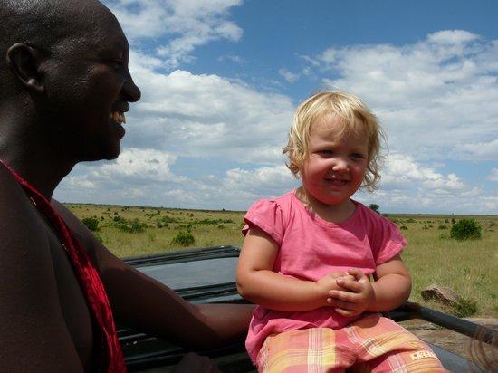 Leleshwa Camp: open top safari drive
