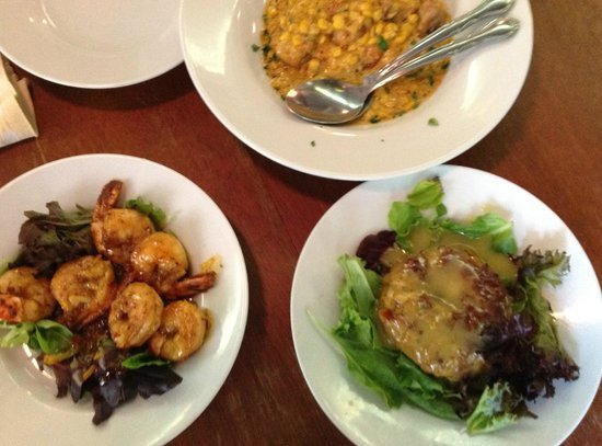 Cafe Amelie : we made a meal of appetizers