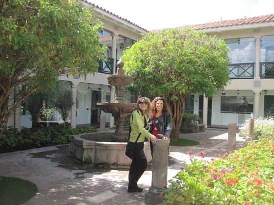 Casa Andina Premium Cusco: One of many interior hotel courtyards