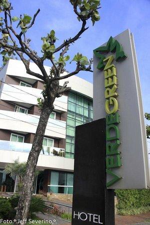 Verdegreen Hotel: Vista do calçadão