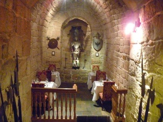 Dalhousie Castle: The Dungeon Restaurant
