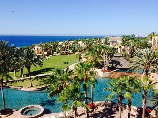 Esperanza - An Auberge Resort: View from our 4 bedroom villa on the top floor!