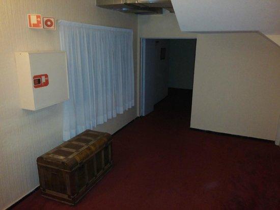 Hotel Marte: camino a la habitación
