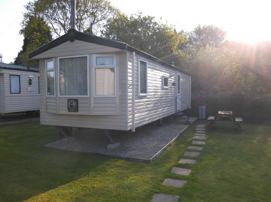 River Valley Holiday Park: Our caravan